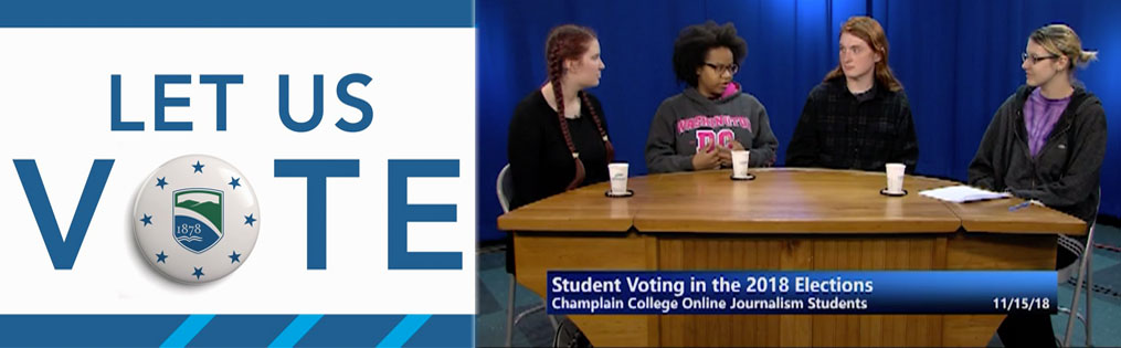 Students Talk Mid-Term Elections on Local TV