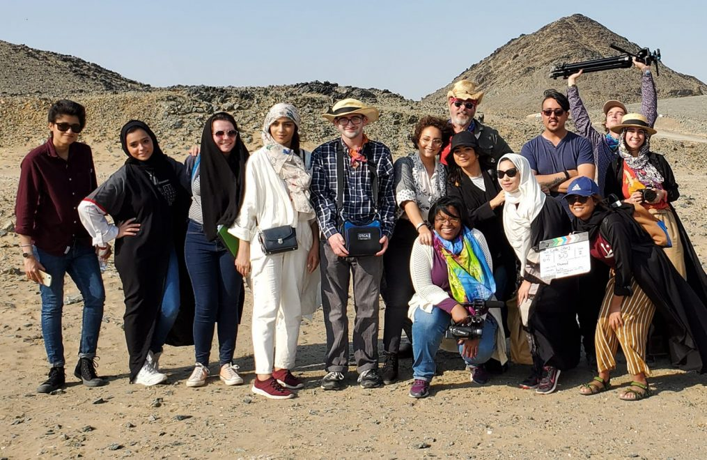 CCM Students Shoot Films in Saudi Arabia