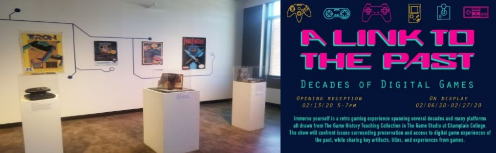 Immersive Retro Gaming Experience at Champlain Gallery