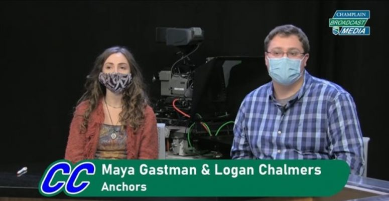 Screenshot from Champ Chat of Maya Gastman and Logan Chalmers