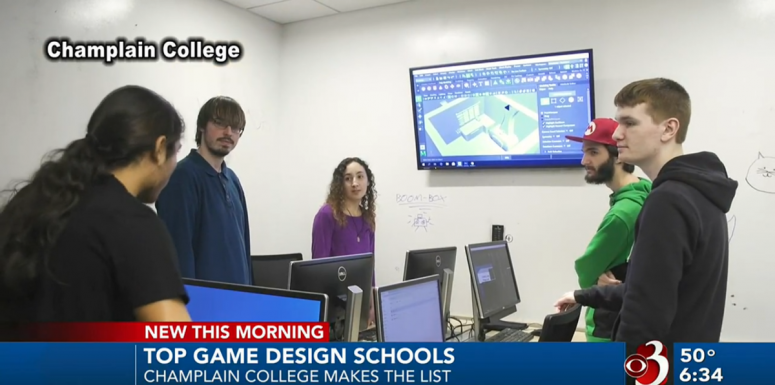 Champlain College Game Design List