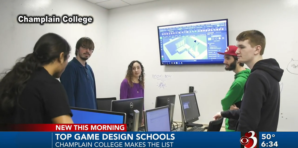 Champlain Named to List of Top Game Design Schools